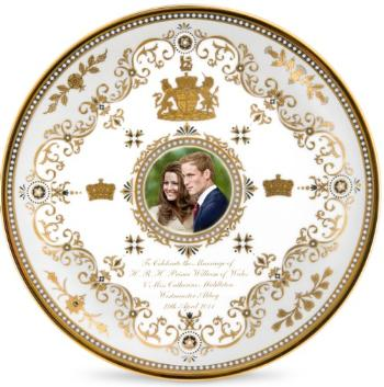kate-william-wedding-plate